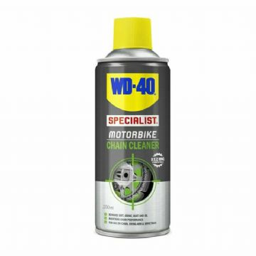 WD-40 Specialist Motorcycle Motorbike Universal O, X & Z Chain Cleaner - 200ml